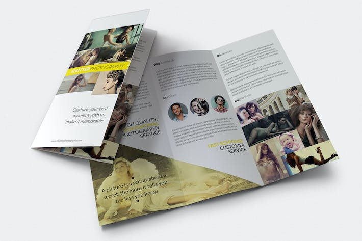 Thumbnail for Shutter - Photography Trifold Brochure