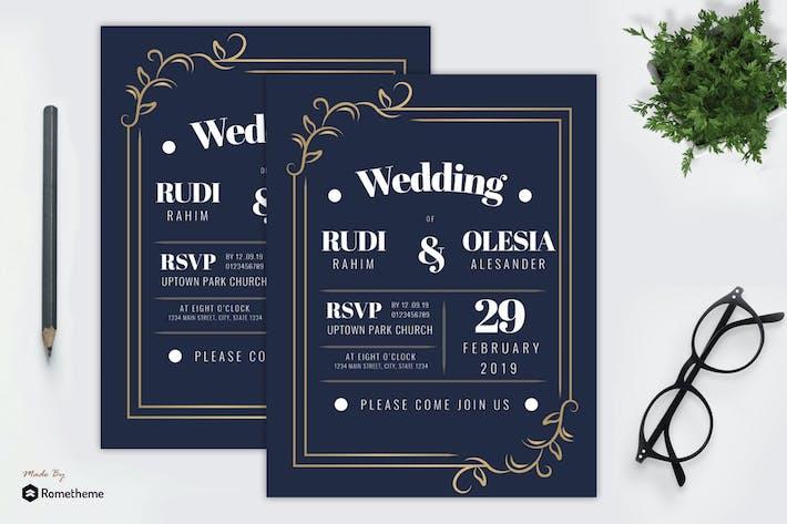 Thumbnail for Wedding Invitation vol. 04