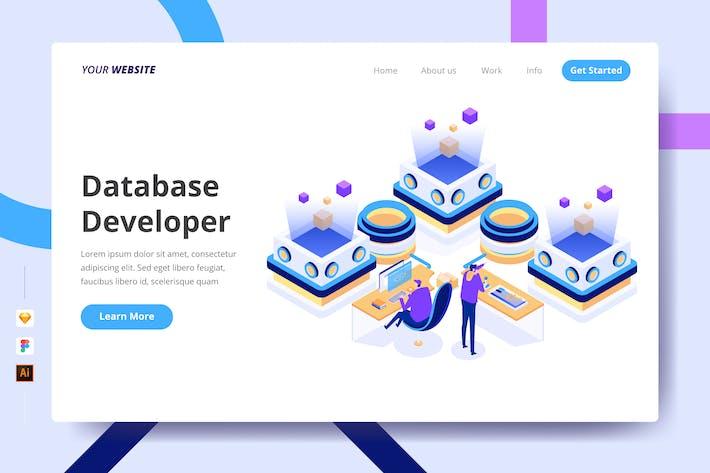 Thumbnail for Database Developer - Landing Page