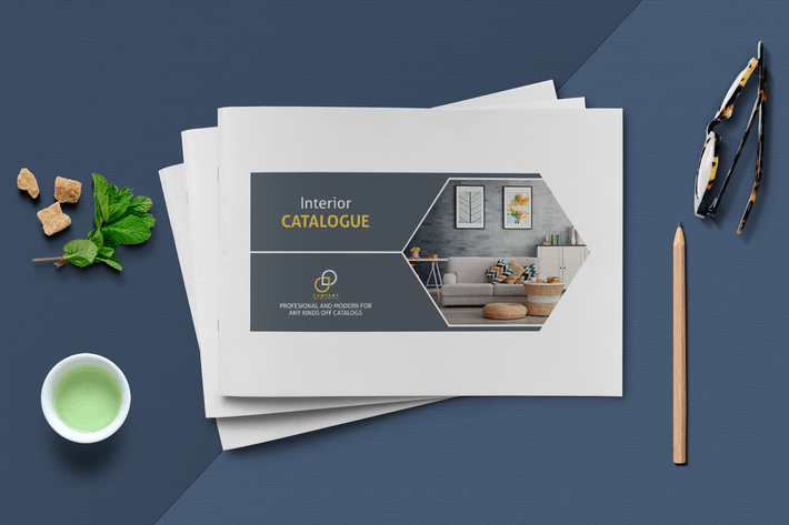 Thumbnail for A5 Modern Catalogue Template