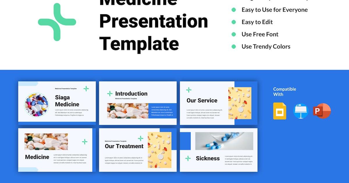 Download SIAGA - Medicine Presentation Template by inipagi