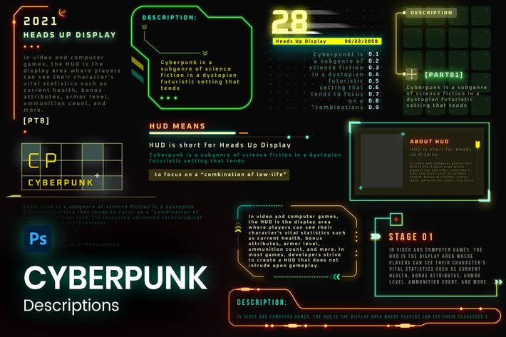 Futuristische Sci-Fi -Texte