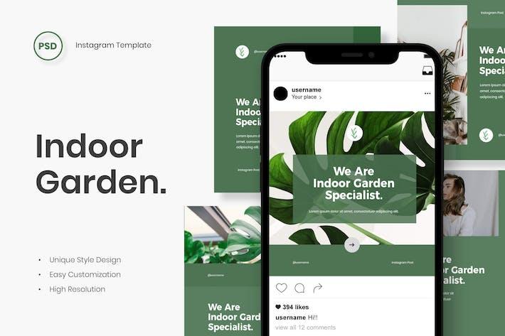 Thumbnail for Garden - Instagram Post Template