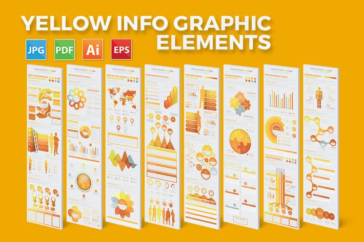 Thumbnail for Big Yellow Infographics