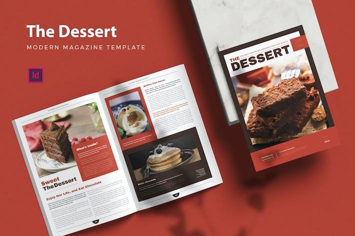 Thumbnail for Das Dessert Magz - Magazin