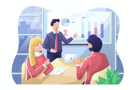 Illustration zur Unternehmensp
