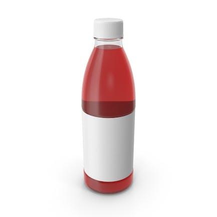 Red Juice Bottle