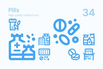 Pills Icons