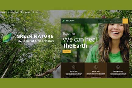 Green Nature - Environmental HTML Template