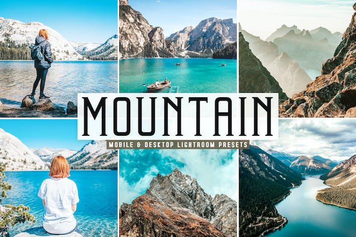Thumbnail for Mountain Mobile & Desktop Lightroom Presets