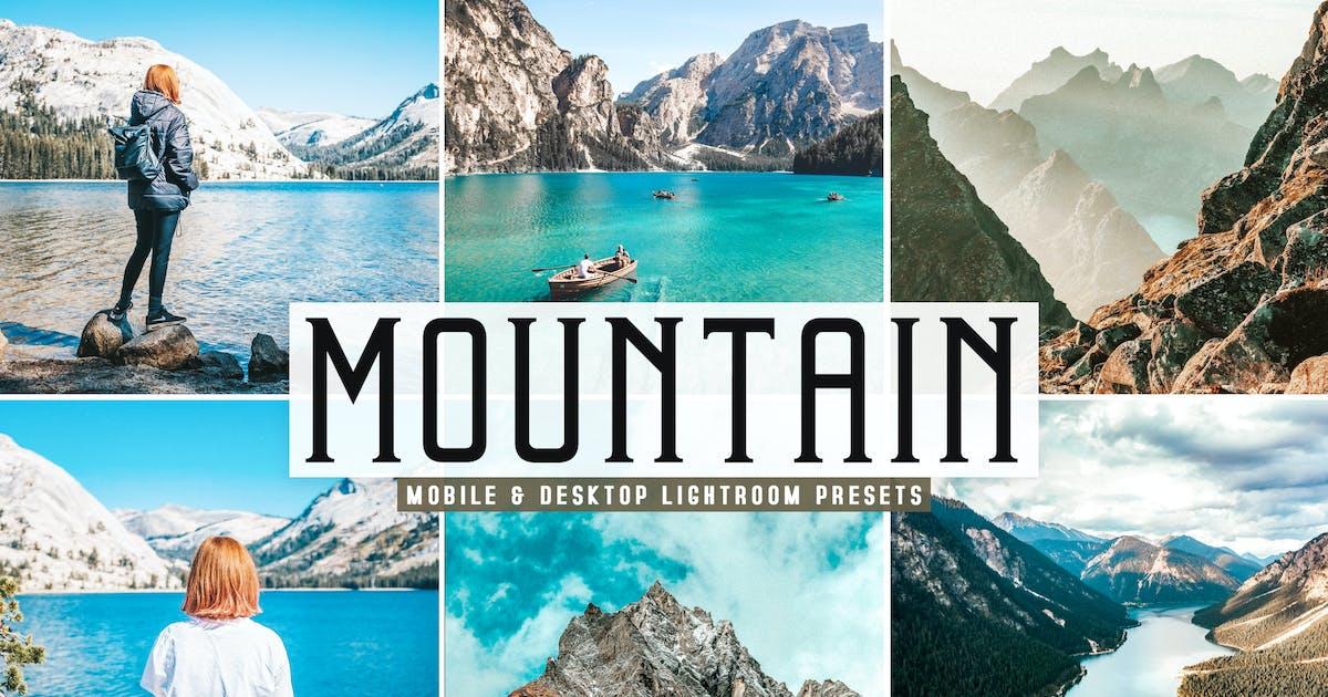Download Mountain Mobile & Desktop Lightroom Presets by creativetacos