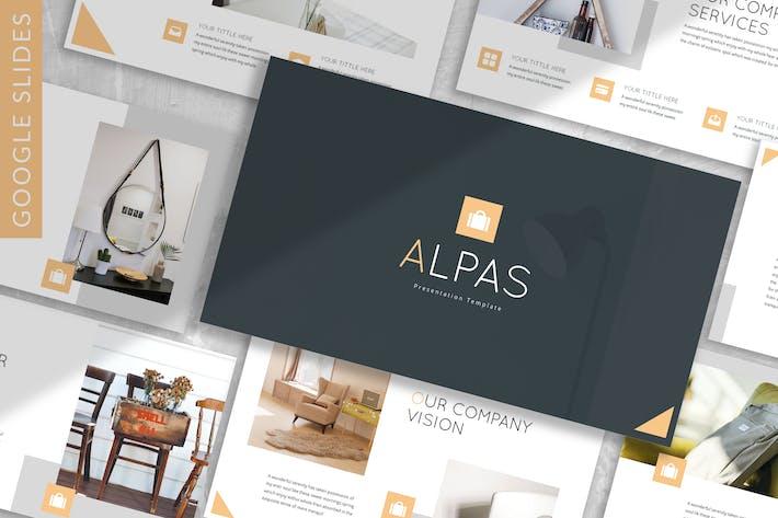 Thumbnail for Alpas - Business Google Slide Template