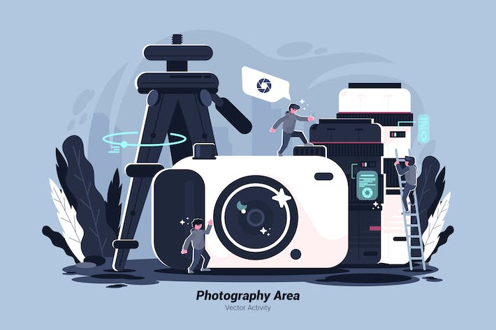 Thumbnail for Photography Area - Vector Illustration