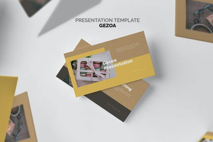 Gezoa : Bakery & Pastry Business Google Slides