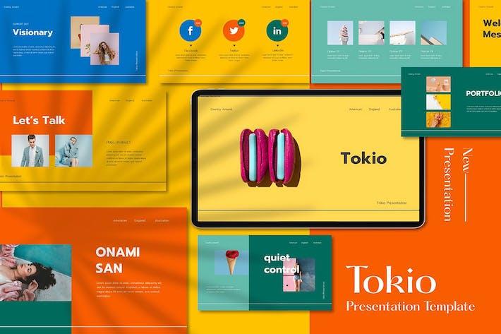 Tokio - Google Slides