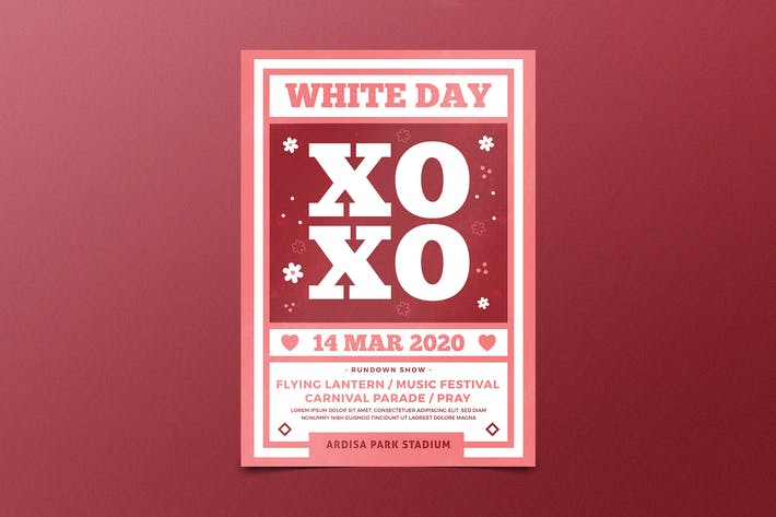 Thumbnail for White Day Flyer