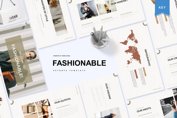 Fashionable | Keynote Template