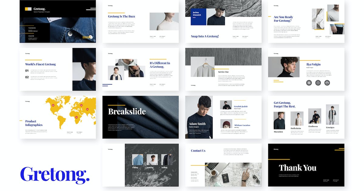 Download Gretong - Fashion Presentation Template by celciusdesigns