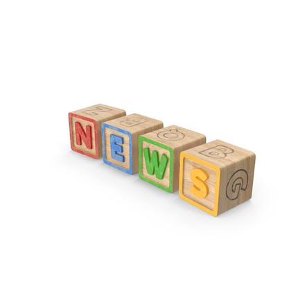 Alphabet Blocks Noticias
