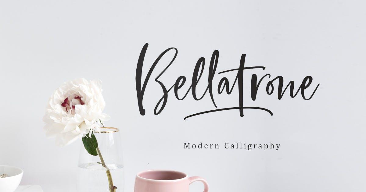 Bellatrone - Modern Script by saridezra