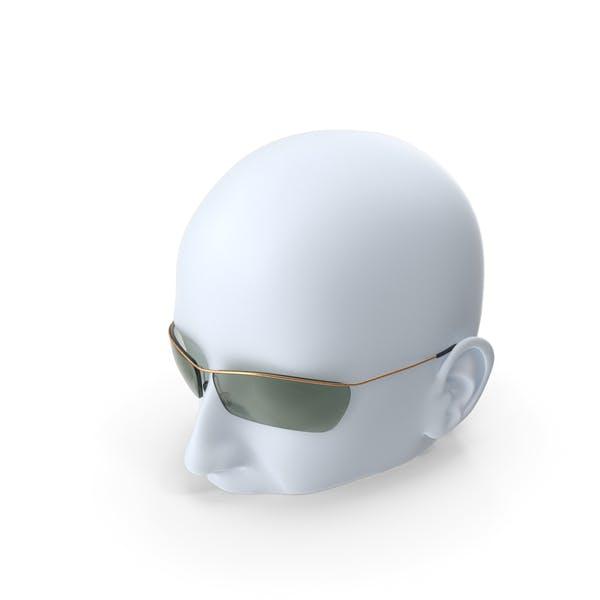 Sunglasses Head