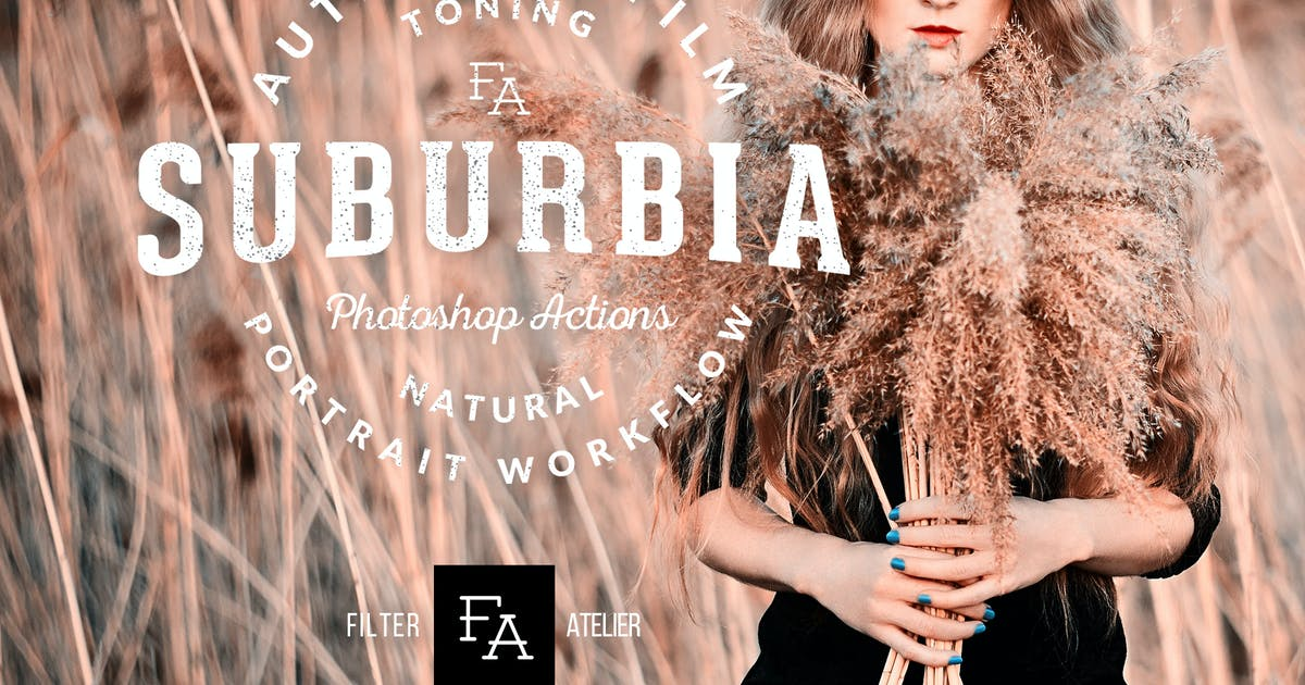 Download Suburbia Photoshop Actions by Presetrain