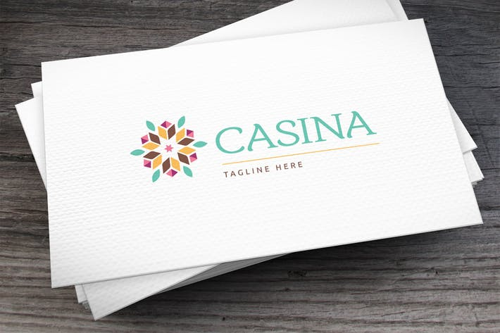 Thumbnail for Casina Logo Template