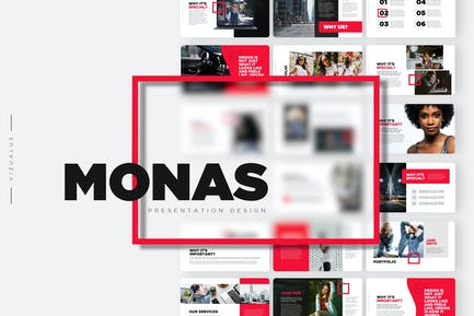 Monas Powerpoint Template