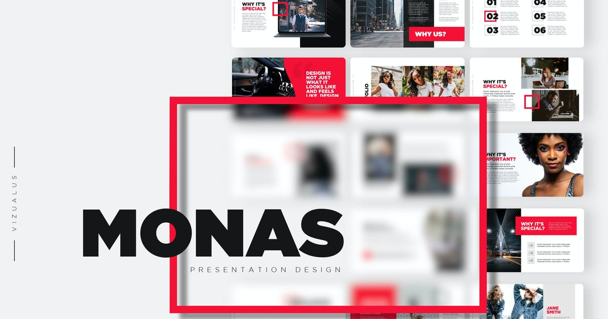 Download Monas Powerpoint Template by Levato