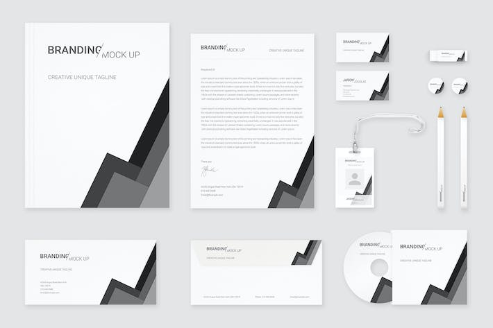 Cover Image For Branding Identity Mock Up (Vol. 6)