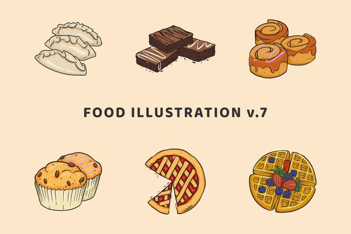 Thumbnail for Food Illustration V.7