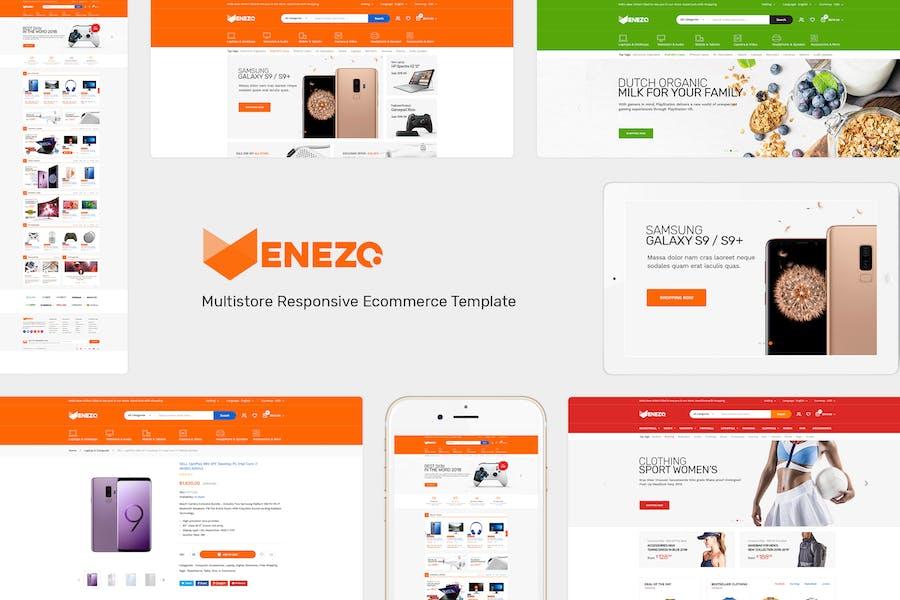 Venezo - Responsive Prestashop Theme - product preview 0