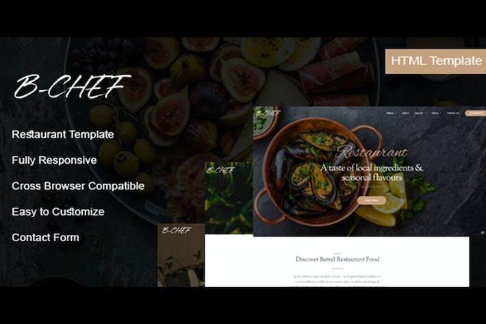 Thumbnail for B-Chef - Restaurant HTML Template