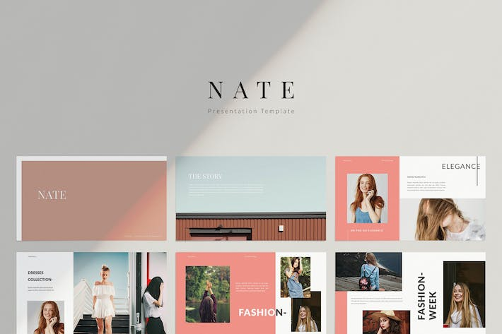 Thumbnail for Nate - Keynote Template