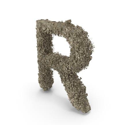 Destruction Stone Buchstabe R