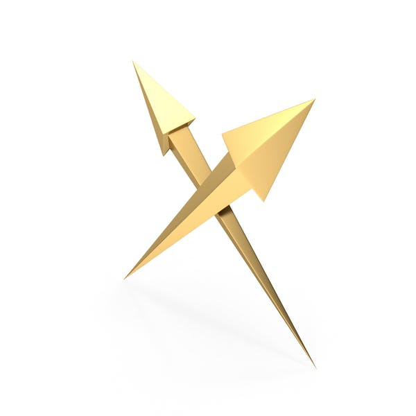 Cover Image for Gold Arrows Crossed