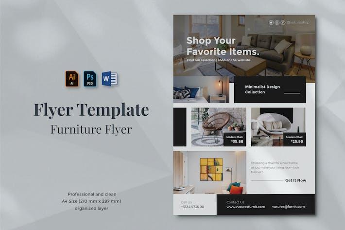 Thumbnail for Vurnies - Furniture Flyer Template 05