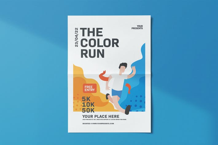 Thumbnail for Run Color dépliant