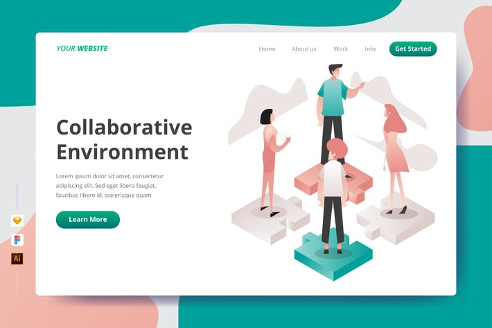 Thumbnail for Collaborative Environment - Landing Page
