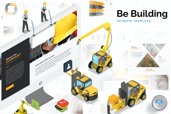 Thumbnail for Building & Construction Keynote Template
