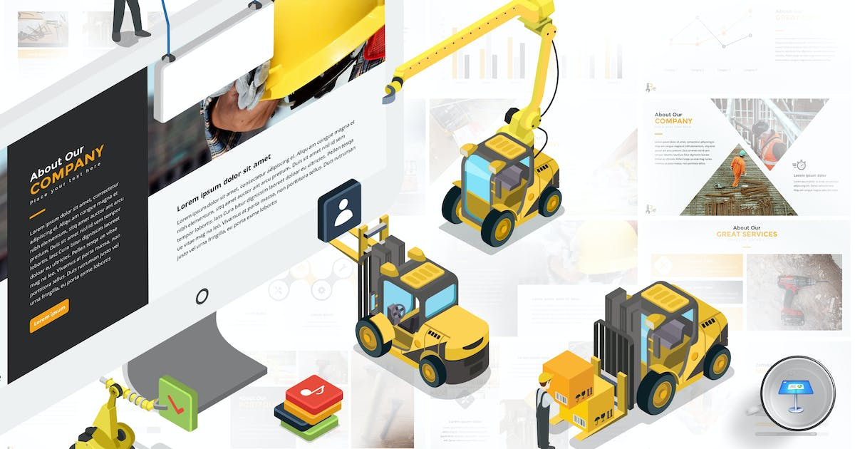 Download Building & Construction Keynote Template by Unknow