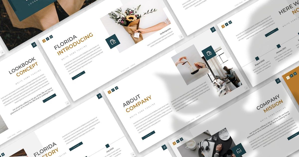 Download Florida - Creative Agency Prensentation Template by designesto