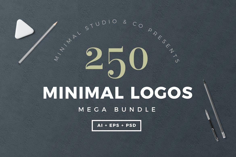 250 Minimal Logos Template
