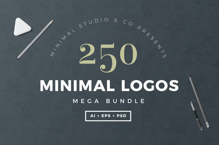 Thumbnail for 250 Minimal Logos Template