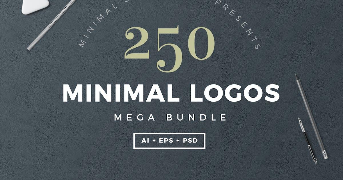 Download 250 Minimal Logos Template by SlideEmpire