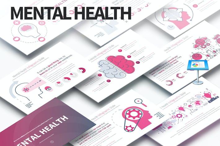 Thumbnail for MENTAL HEALTH - Keynote Infographics Slides