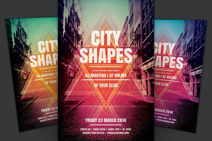 Thumbnail for City Shapes Flyer
