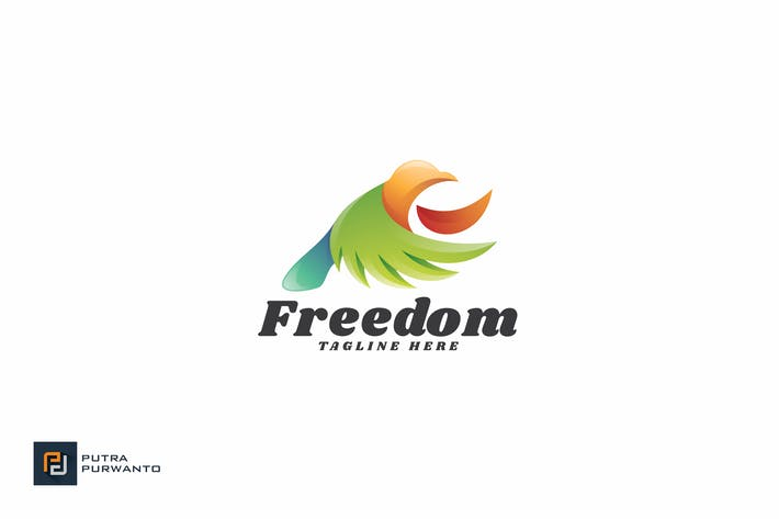 Thumbnail for Freedom - Logo Template