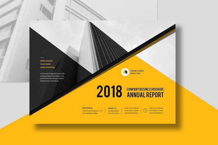 Thumbnail for Annual Report Landscape