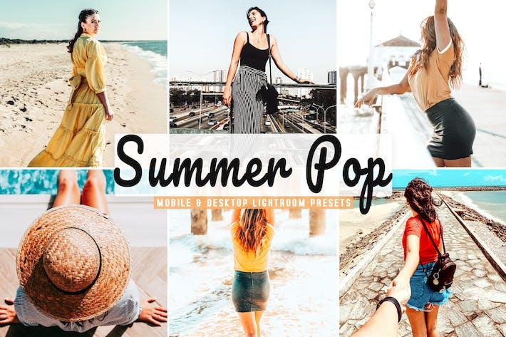 Summer Pop Mobile & Desktop Lightroom Presets
